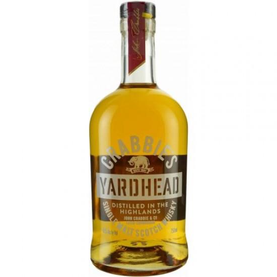 Crabbie's Yardhead Highlands Single Malt Scotch Whiskey