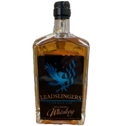 "Leadslingers Bourbon - Special ""Thin Blue Line"" Edition"