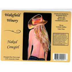 Wakefield Naked Cowgirl