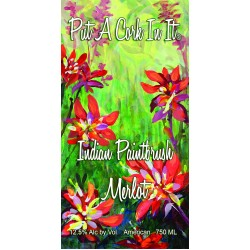 Put A Cork In It - Indian Paintbrush Merlot
