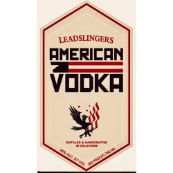 Leadslingers American Vodka