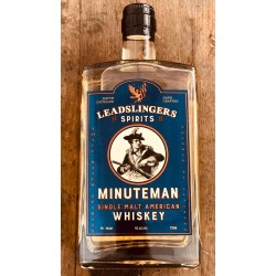 Leadslingers Minuteman Single Malt Whiskey