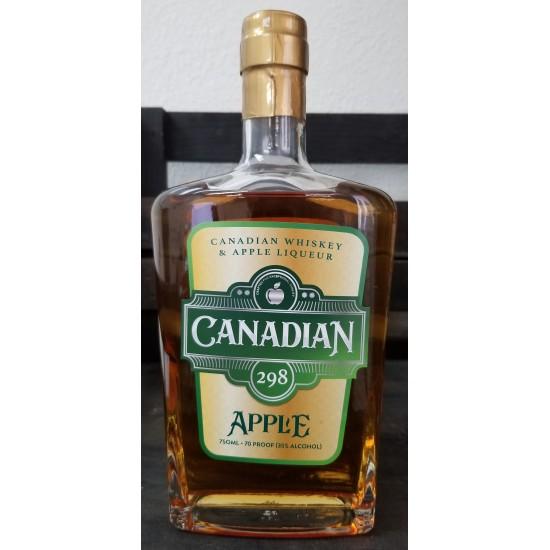 Canadian 298 Apple Whiskey