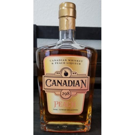 Canadian 298 Peach Whiskey