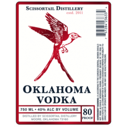 Scissortail Oklahoma Vodka