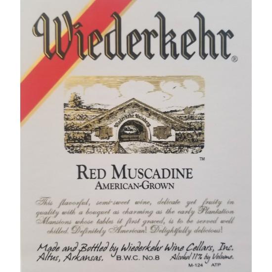 Wiederkehr Red Muscadine 1.5L
